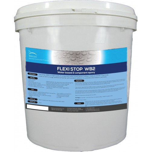 Flexistop WB2 - Water-based 2 Component Epoxy