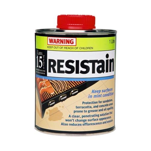 Resistain - Stain-Resistant Masonry Sealer